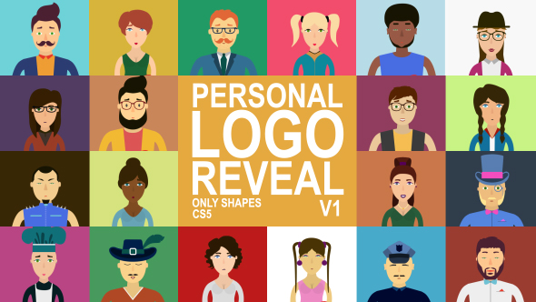VideoHive Personal Logo Reveal 19683615