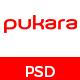 Pukara Personal Portfolio PSD Template