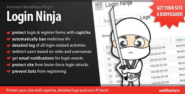 CodeCanyon Login Ninja 1932728