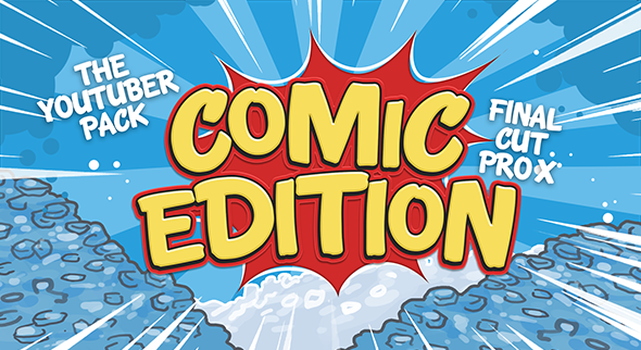 The Youtuber Pack - Comic Edition - Final Cut Pro X