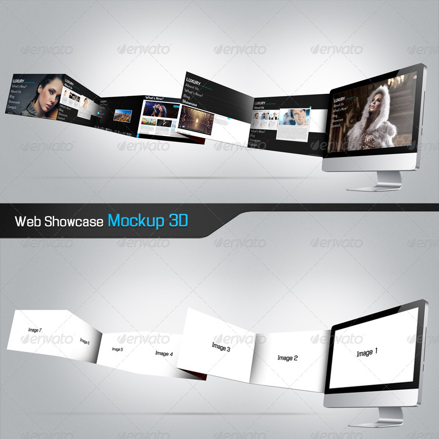 Web Showcase Mockup
