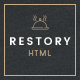 Restory - Restaurant & Cafe HTML5 Template