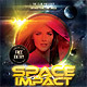 Space Impact Party Flyer - GraphicRiver Item for Sale