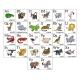 Cartoon Animal Alphabet Chart