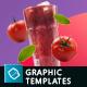 Organic Juice - 10 Premium Hero Image Templates