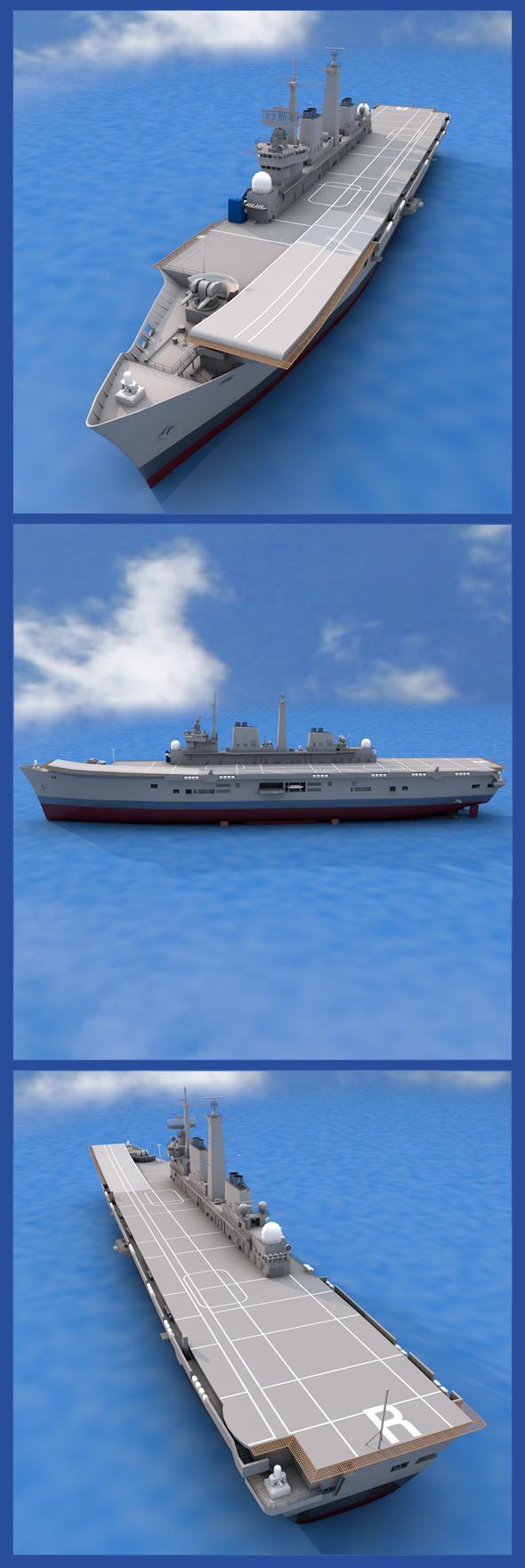 3DOcean HMS Ark Royal 19720812