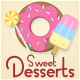 Sweet Desserts - Motion Icons & Titles