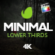 Minimal Lower Thirds For Final Cut Pro X