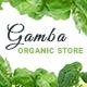Gamba - Organic HTML Template
