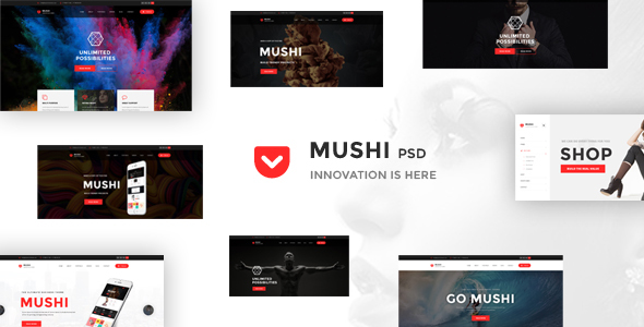 Multipurpose Psd Template - Mushi
