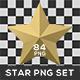 Star PNG Set