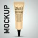 Cosmetic Tube Mockup.
