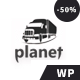 Planet – Logistics Shipping Company WordPress Theme