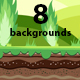 8 Game Backgrounds