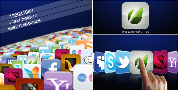 VideoHive 25 Icons Set 1933510