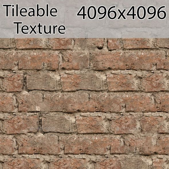 brick-00192-armrend.com-texture - 3DOcean Item for Sale