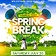 Spring Break Flyer Template 2