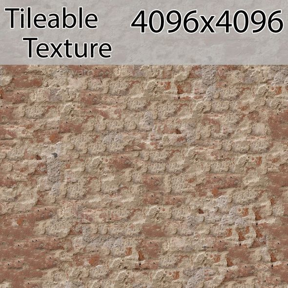 brick-00200-armrend.com-texture - 3DOcean Item for Sale