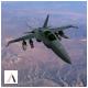 F/A-18 Hornet 3D Model