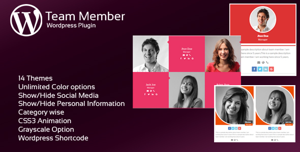 JAG Interactive Group Members WordPress Plugin (Add-ons)