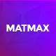 Matmax App Landing Page