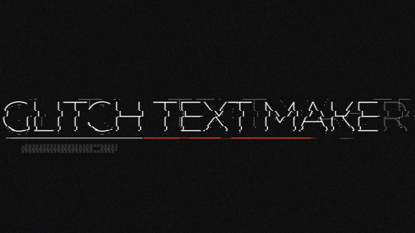 Glitch Text Maker