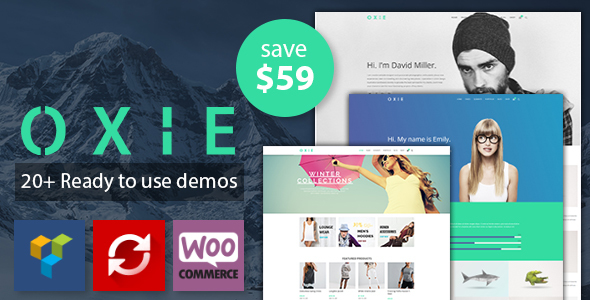 Oxie - Modern and Multipurpose WordPress Theme (Creative) Oxie - Modern and Multipurpose WordPress Theme (Creative) preview