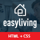 Easyliving - Home Maintenance, Repair Service Responsive HTML Template