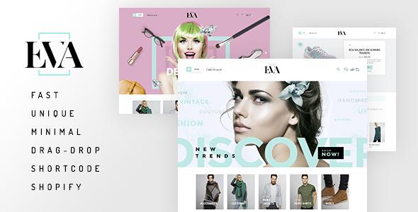 Eva – Responsive Drag&ampDrop Shopify Theme (Shopify)