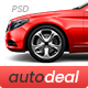 AutoDeal - Car Retail PSD template