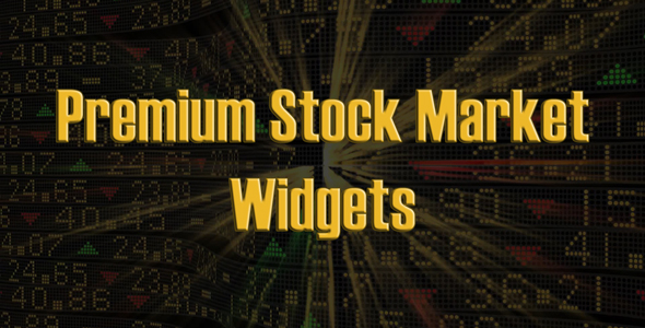Premium Stock Industry Widgets (JS / PHP) (Miscellaneous)