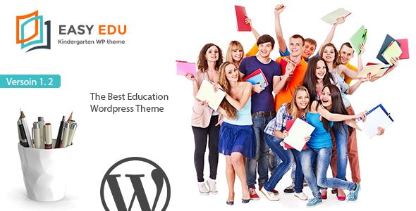 Education WordPress Theme - EasyEdu