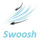 Cartoon Swoosh