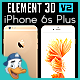 Apple iPhone 6S Plus for Element 3D