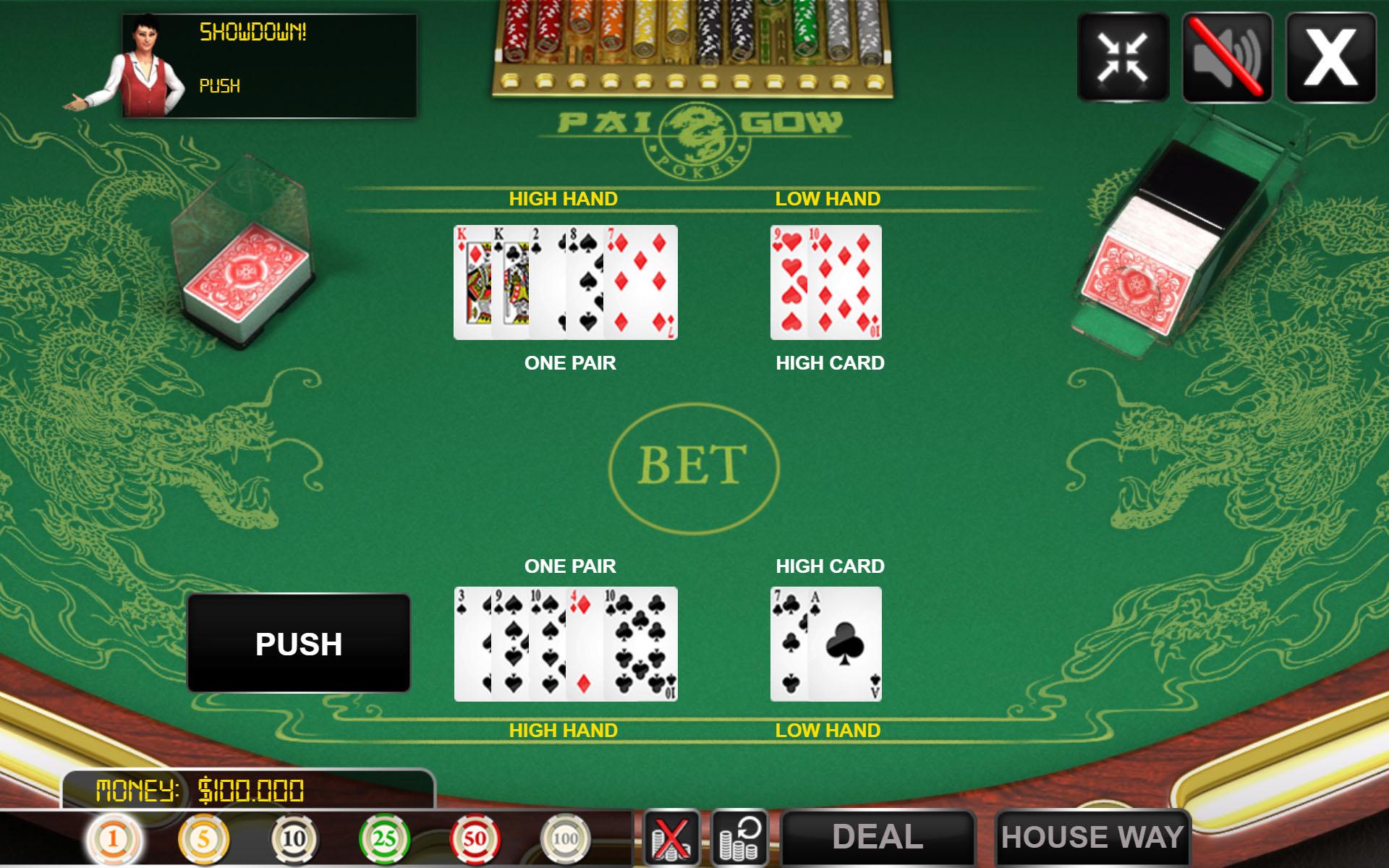 html5 poker game