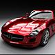 Mercedes SLS AMG 3D