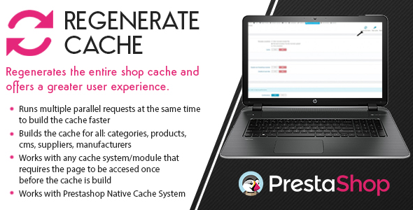 Prestashop Regenerate Cache - CodeCanyon Item for Sale