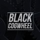 Black Rotating Cogwheel Backgrounds