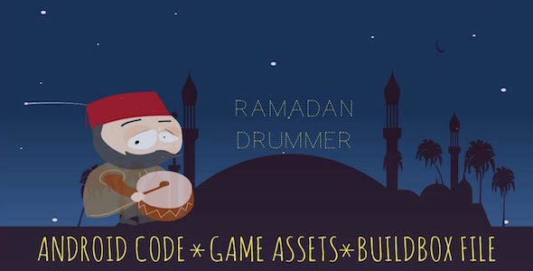 Ramadan Drummer - Android Game with Admob and Buildbox - CodeCanyon Item for Sale