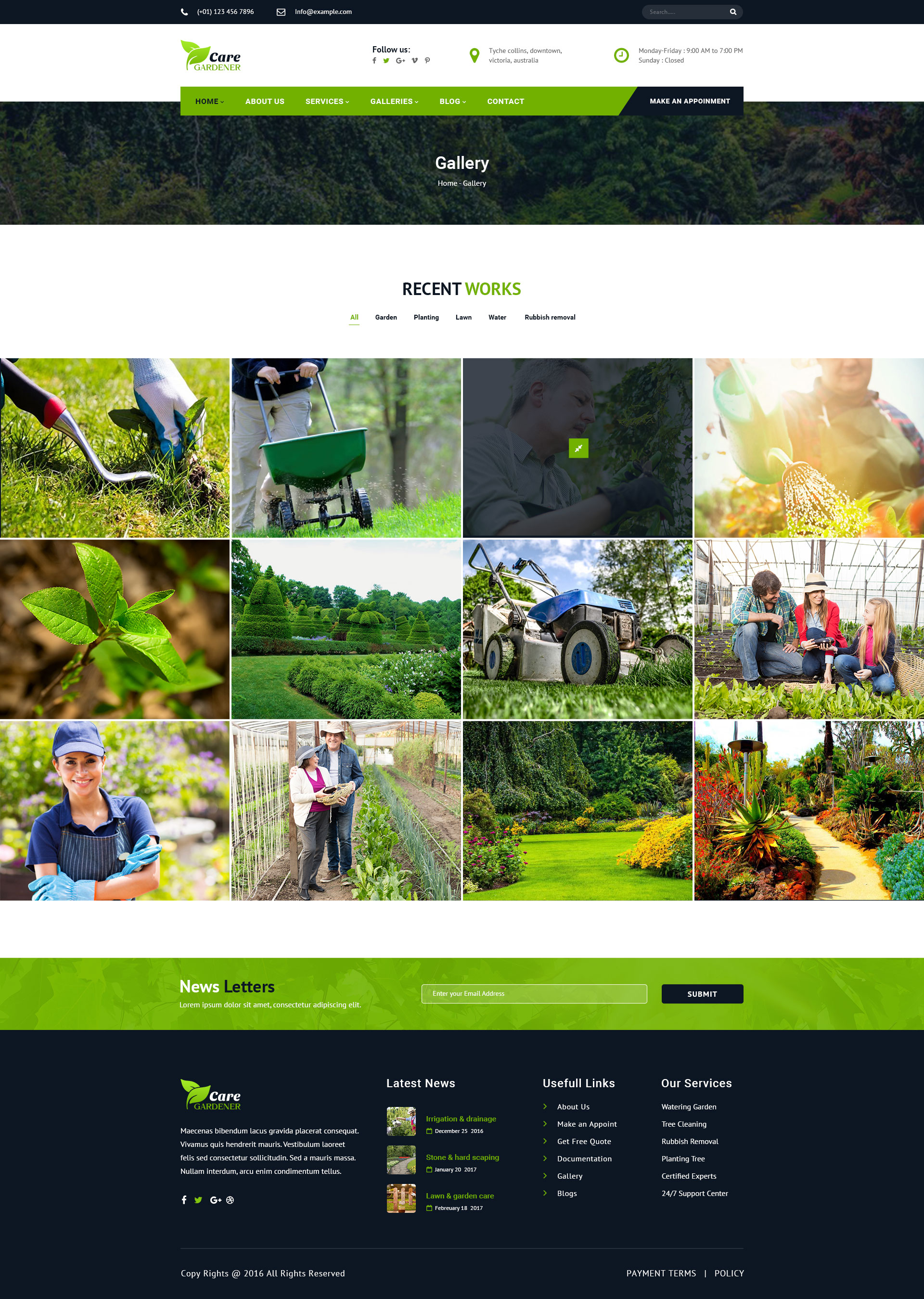 lawn care website templates fertilizers com how to get landscaping ...