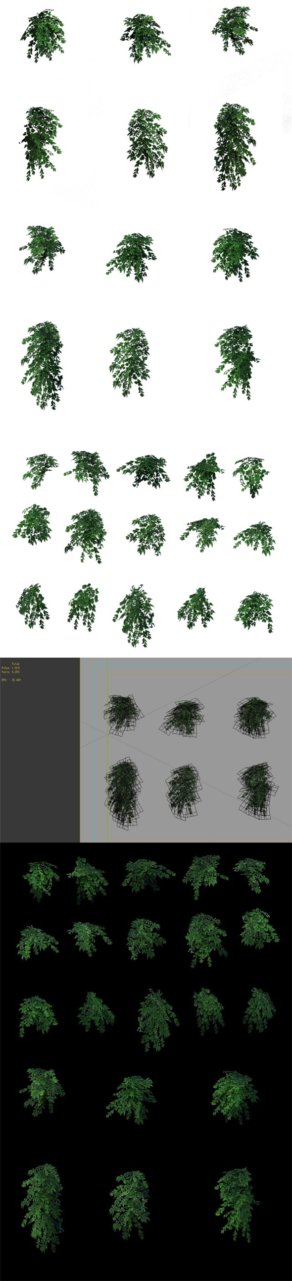 Game Model - Grass 03 - 3DOcean Item for Sale