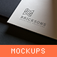 Logo Mockups Collection Vol. 1