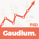 Gaudium - One Page PSD Template