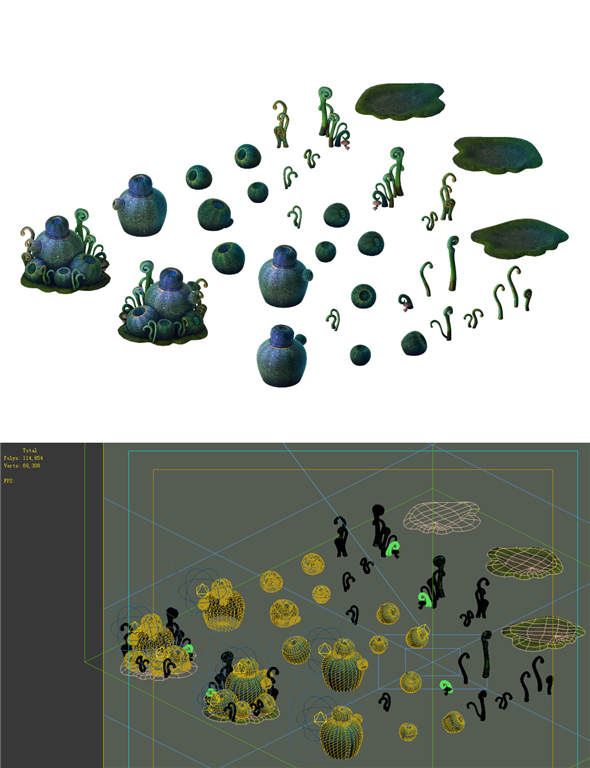 Game Models - poison Valley Scene - hemlock Cong - 3DOcean Item for Sale