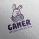 Rabbit Gamer Logo Design
