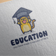 Education Cat Logo
