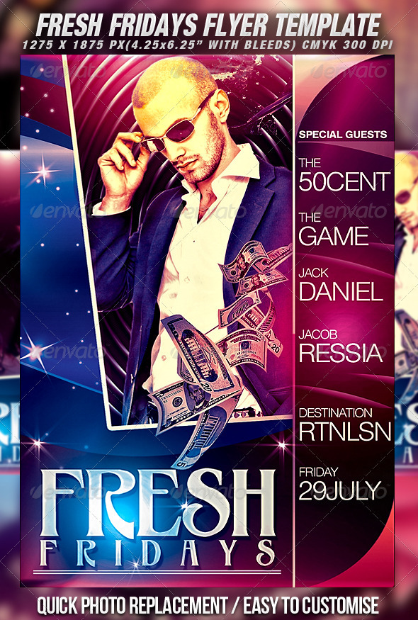 Fresh Flyer Template - Clubs & Parties Events