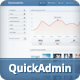 Quick Admin - Responsive Admin Template - ThemeForest Item for Sale