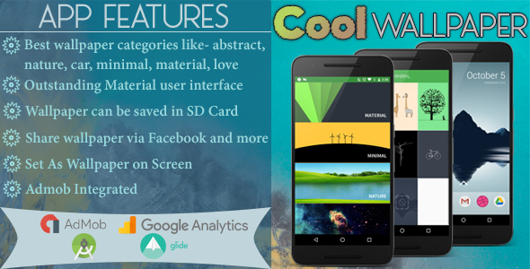 Cool WallPaper with Admob and Admin Panel - CodeCanyon Item for Sale