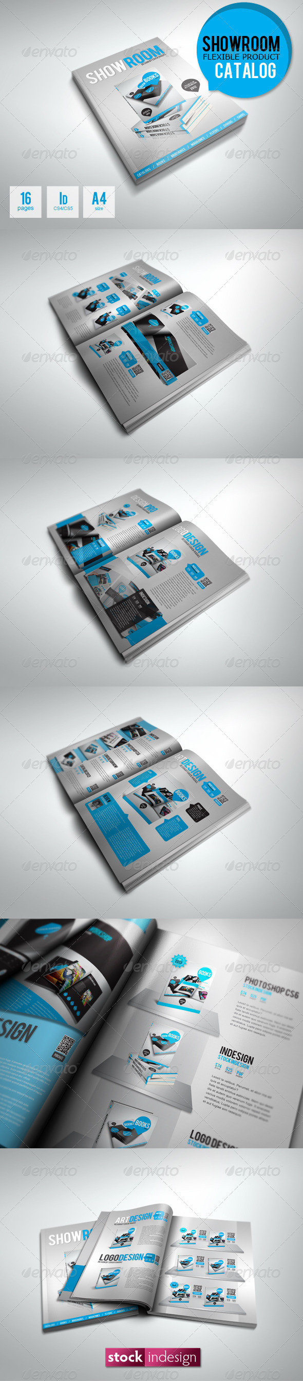 ShowRoom Product Catalog - Unlimited Colors - Corporate Brochures